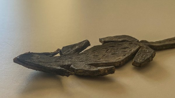 Roman Leather Toy Mouse Discovered