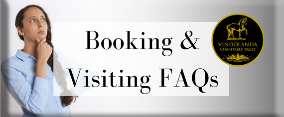 Booking & Visiting FAQs