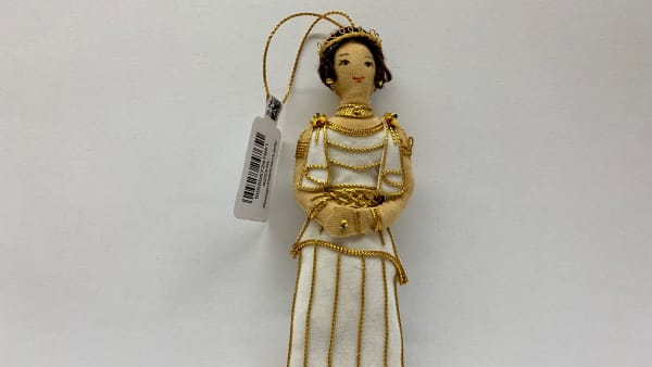 Roman Patrician Lady Christmas Decoration