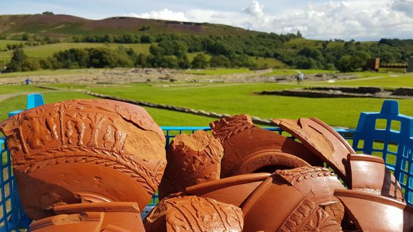 A closer look at Samian pottery